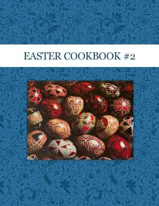 EASTER COOKBOOK #2