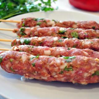Moroccan Kefta Kebab.