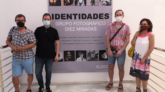 El grupo fotográfico Diez miradas expone la muestra 'Identidades'