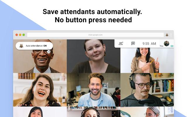 Google Meet Attendance List