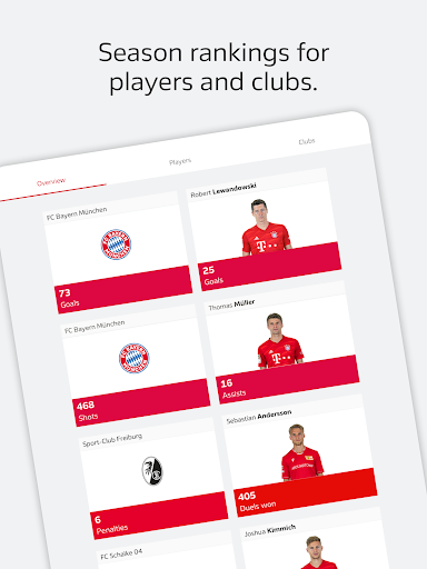 BUNDESLIGA - Official App 3.9.3 Screenshots 16