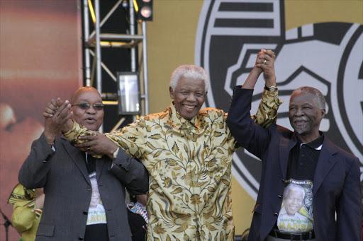 relationship between thabo mbeki and jacob zuma