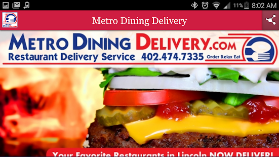 Metro Dining Delivery- screenshot thumbnail