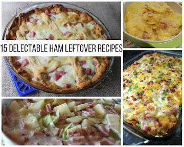 15 Delectable Ham Leftover Recipes