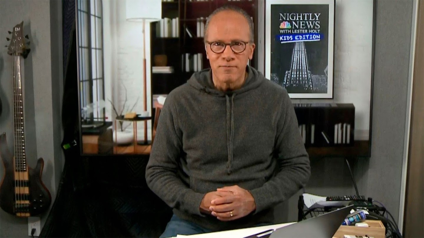 Watch NBC Nightly News With Lester Holt: Kids Edition live