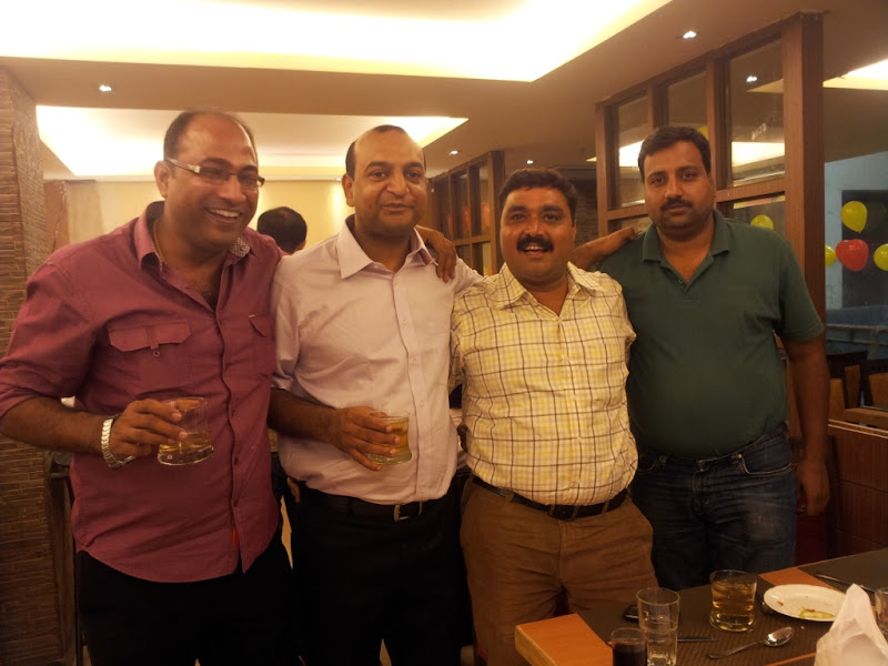 Photo: Dr. Amit celebrated his birthday with his family and friends at The Yellow Chilli Restaurant, Lucknow.