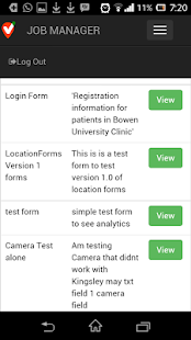 LocationForms Jobmanager- screenshot thumbnail