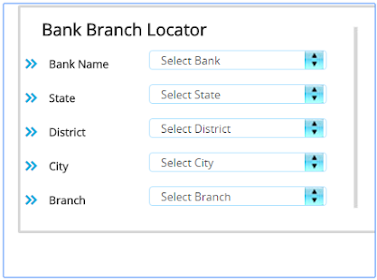 Bank IFSC Code Finder- screenshot thumbnail