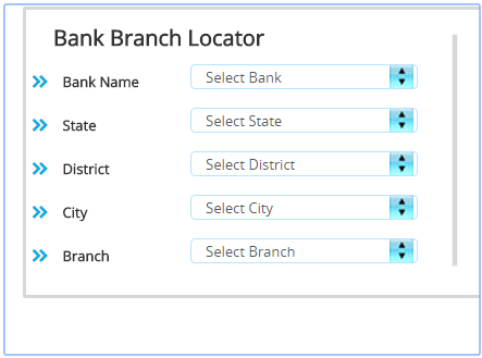 Bank IFSC Code Finder- screenshot