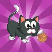 Kitty's Magic Yarn Ball