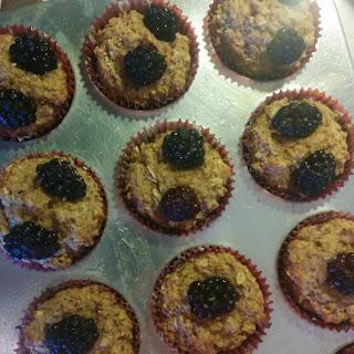 Orange Juice Blackberry Muffins Recipe