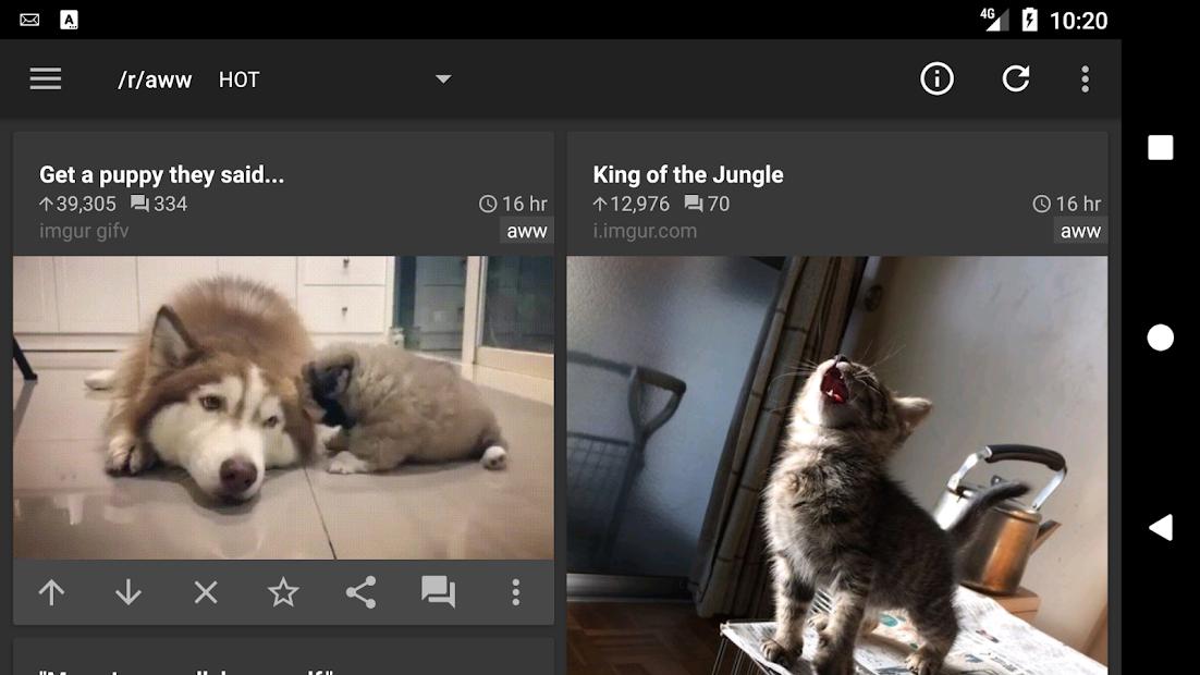 reddit is fun (unofficial) screenshot 5
