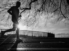 Photo: Runner's World...  On tour with +Thomas Leuthard  #street #streetphotography #shootthestreet #blackandwhite #blackandwhitephotography #bw #monochrome