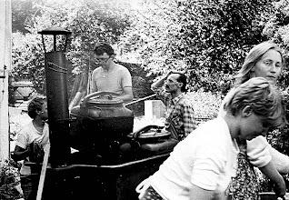 Photo: Święta Lipka, letni obóz biblijny 1987 garkuchnia