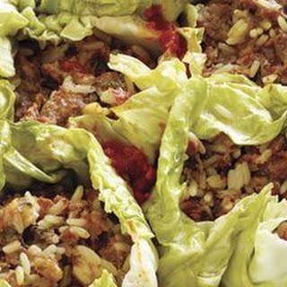 Skillet Stuffed Cabbage
