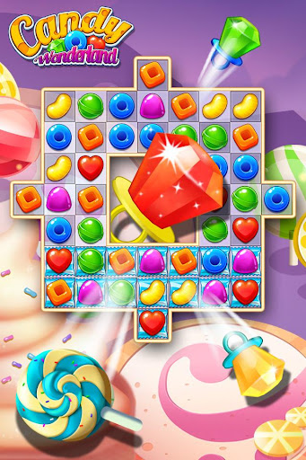 Candy Wonderland Match 3 Games - screenshot