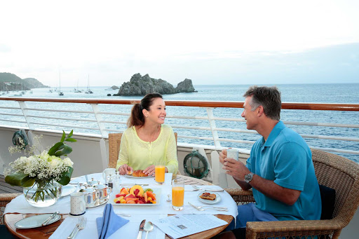 Seadream-breakfast2.jpg - Breakfast aboard SeaDream II gives you time to plan your day.