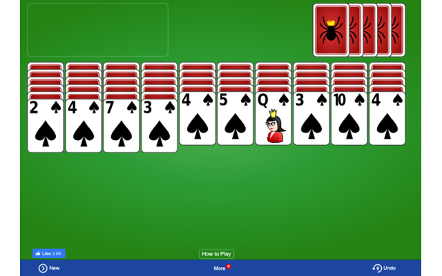 Spider Solitaire Game - FREE