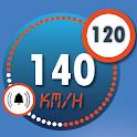 GPS Speedometer HUD Display : Speed Limit Alerts icon