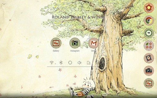 玩個人化App|ローランドエンブリー 余裕な午後 アトム テーマ免費|APP試玩