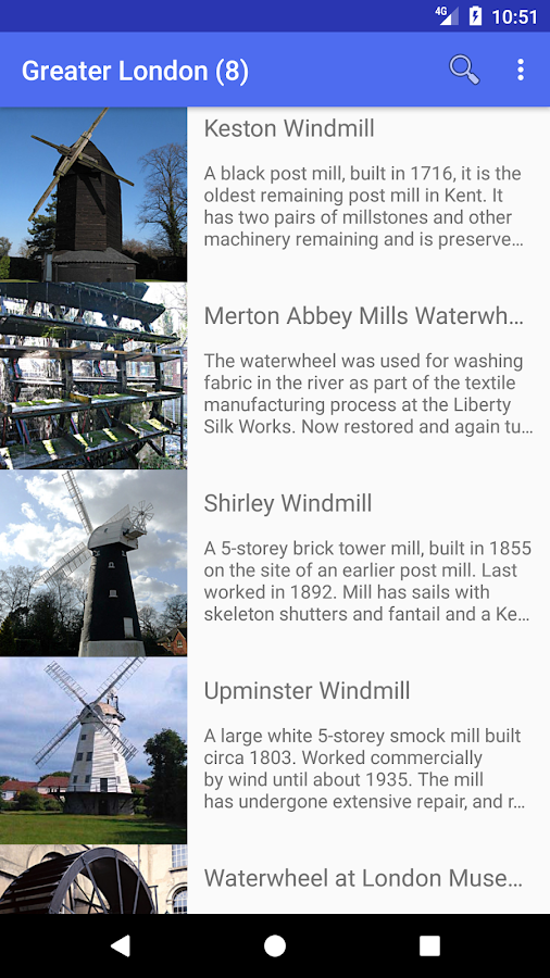 Mills Open: UK windmills +more- スクリーンショット