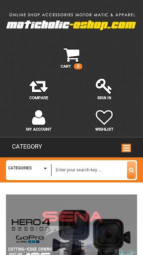 Maticholic eshop App