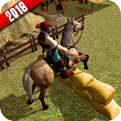 US Horse Ridding Championship 3D