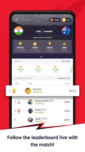 CricPlay - Play Fantasy Cricket & Make Predictions apktram screenshots 4