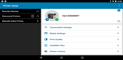 Zebra Printer Setup Utility - Apps on Google Play