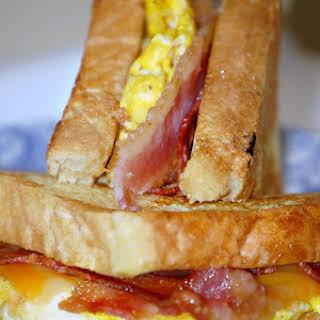 French Toast Sandwich.