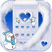 Cute Snowman Snow Winter Theme