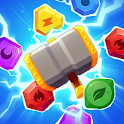 Jewels Thunder Cat Match 3: Lost Temple icon