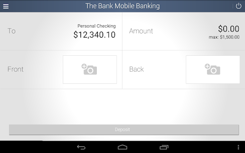 The Bank Mobile Banking- screenshot thumbnail