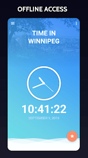 Time in Winnipeg, Canada - náhled