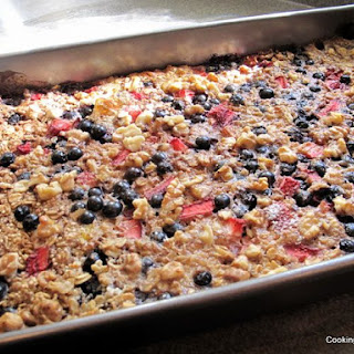 Baked Quinoa and Oatmeal.