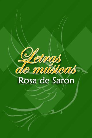 Rosa de Saron Letras
