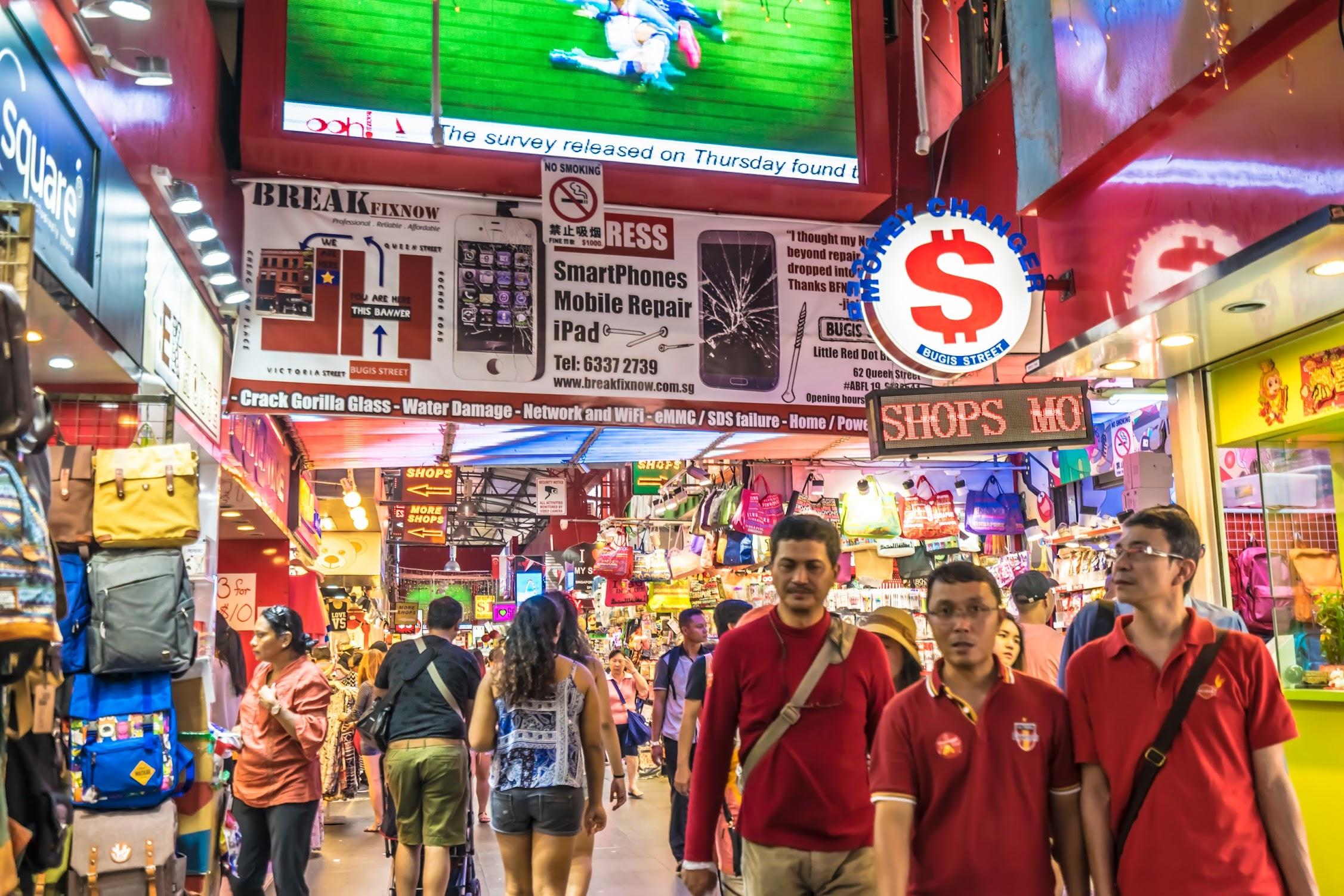 シンガポール ブギス・ストリート