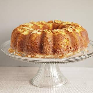 Amaretto Pound Cake.