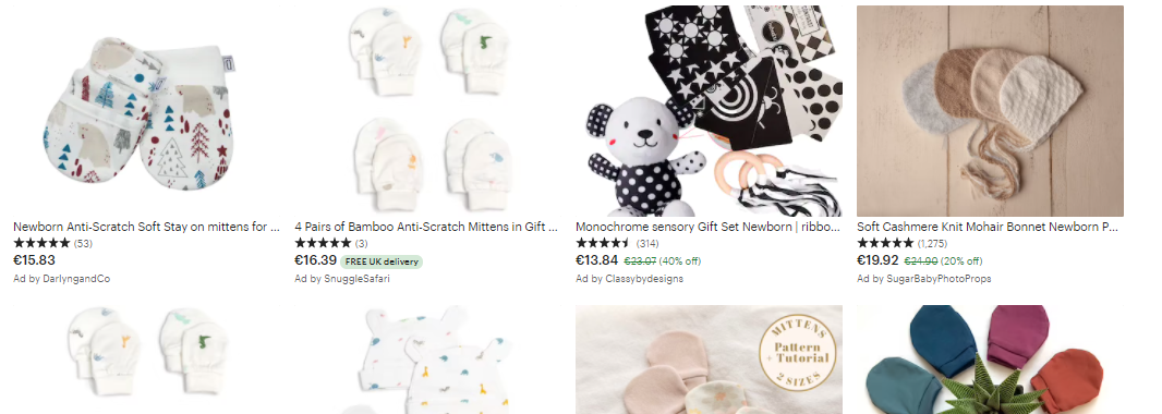 best newborn products to sell online