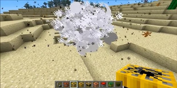 Explosive Bombs Mod for MCPE - náhled