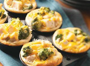 Broccoli-chicken Cups Recipe