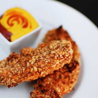 Crunchy Nut Encrusted Chicken Tenders