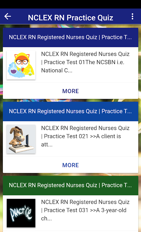 NCLEX RN Practice Quiz   Free Question Answer – (Android