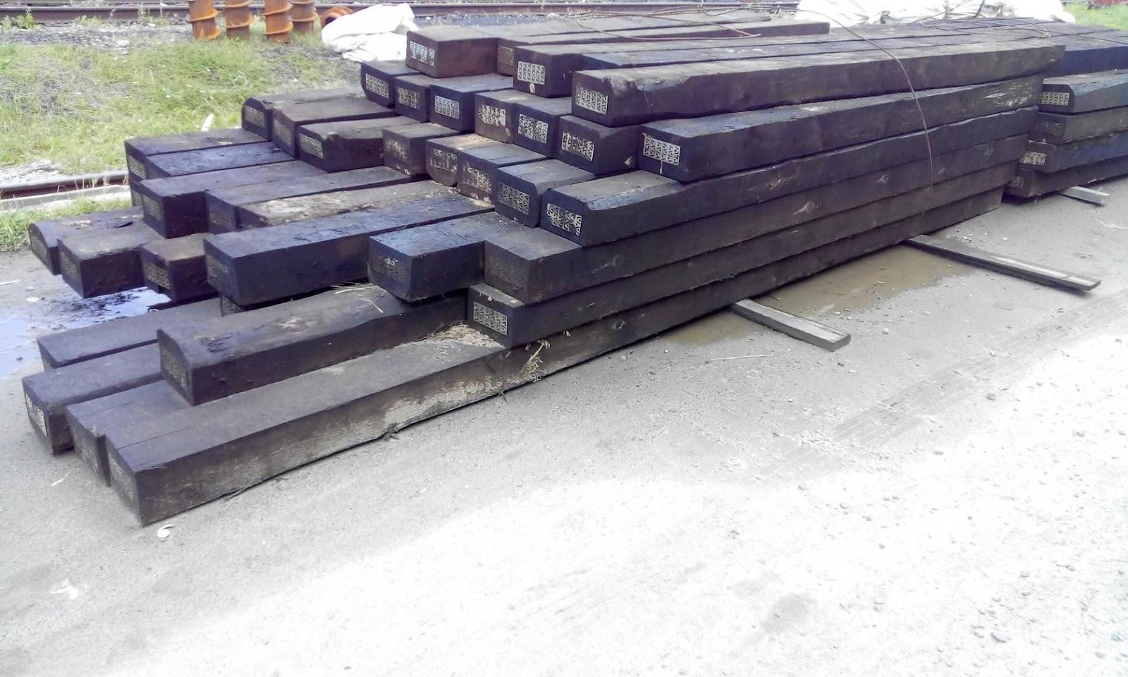 длина шпалы железнодорожной деревянной