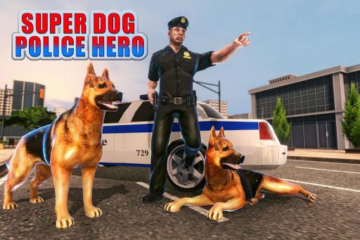 Code Triche US Police Dog: Crime Chase Duty Simulator apk mod screenshots 5