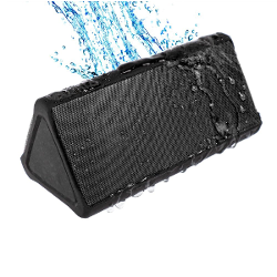 Cambridge SoundWorks OontZ Angle PLUS Portable Wireless Bluetooth Loud Speaker Water Resistant Dustproof Splashproof Outdoor Shower Speaker for iPhone, iPad, Samsung with up to 15 hour playtime