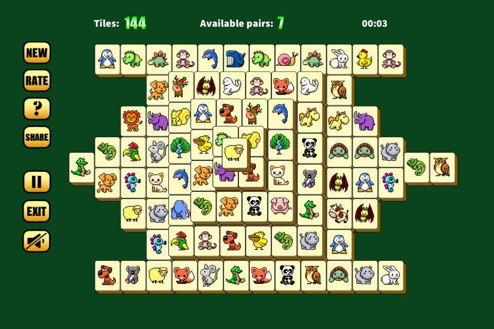 mahjong animal