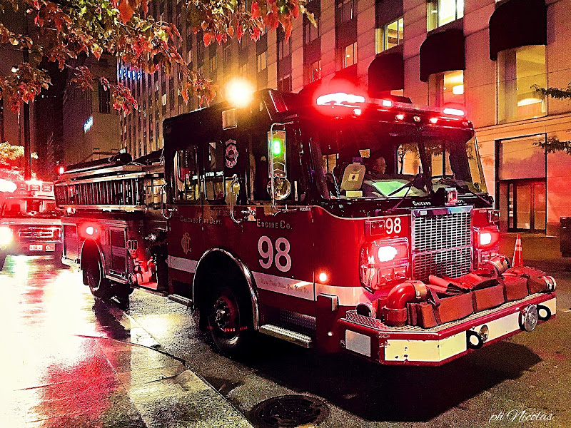 Chicago Fire in Action di nicolamelottophotography