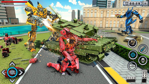 Tiger Robot Transforming Games : Robot Car Games 1.0.9 screenshots 4