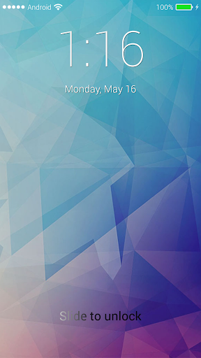 iLockScreen IOS 9 app (apk) free download for Android/PC/Windows